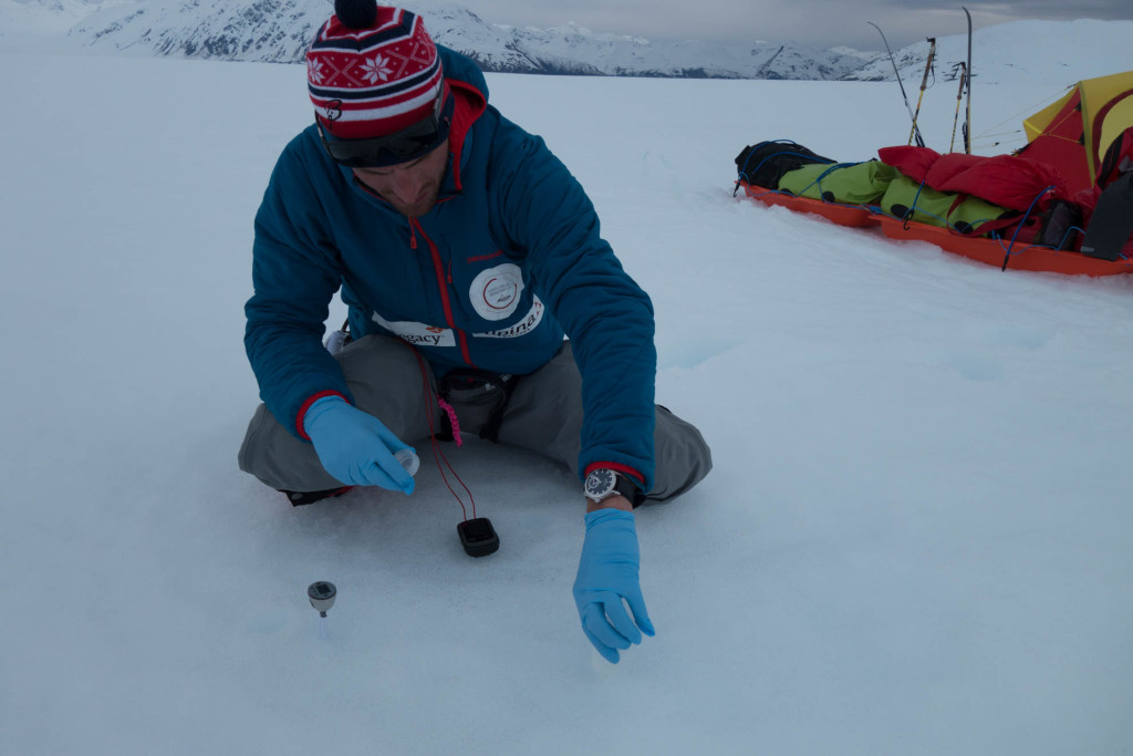 Icelegacy Project. Polar explorer Borge Ousland and all rounder adventurer Vincent Colliard skiing across the 20 largest icecaps on the planet over the course of the next 10 to 15 years.