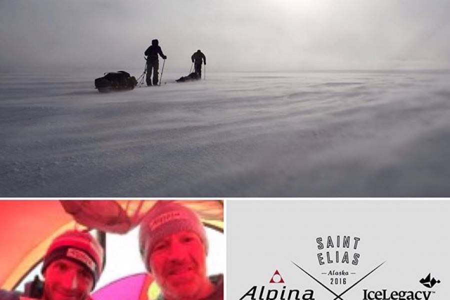 Alpina x IceLegacy St Elias expedition – DAY 13